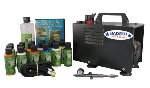 Badger Air-Brush Co. 314-TPWC Taxidermy Professional System with Compressor