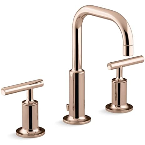 Kohler K-14406-4 Purist Widespread Bathroom Faucet with Ultra-Glide ...