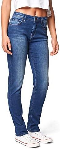 Lee Cooper Fran Slim Fit Jeans, Blau, Standard Femme