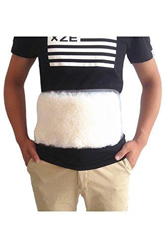JOXJOZ Winter Cashmere Waist Warmer Soft Elastic Support Protector Back Warming - Wool Cashmere Belt