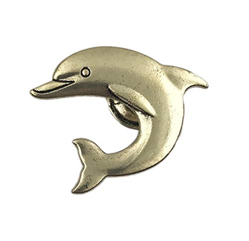 Dolphin Metal Dresser Drawer, Cabinet Drawer or Door Knob Pull