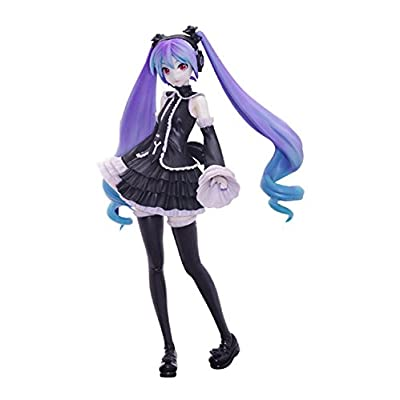 "SEGA Project Diva Arcade Future Tone Hatsune Miku Super Premium Action Figure, 9.5"": Toys & Games"