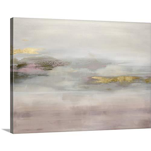 Suspend in Blush Canvas Wall Art Print, 40