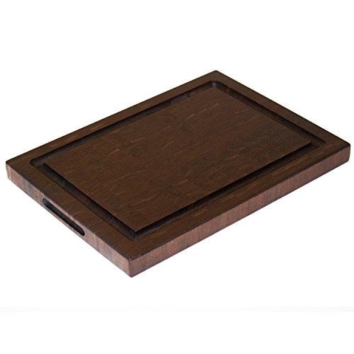 Walnut End Grain Chopping Block Large Handmade Cutting Board Reversible Butcher Block