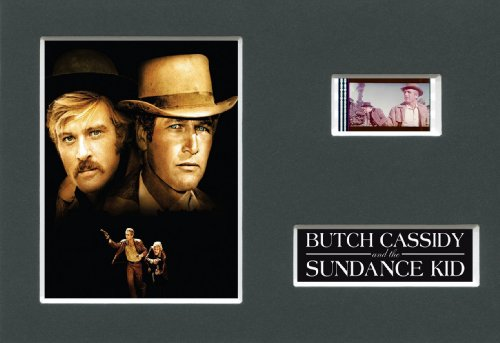 BUTCH CASSIDY & THE SUNDANCE KID - Mounted 35mm Movie Film Cell