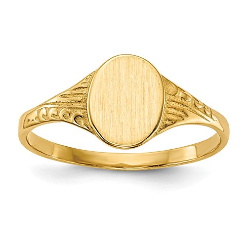Signet Childrens Ring Jewelry - 5