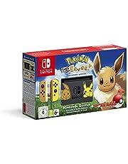 Nintendo Switch Console Bundle Eevee Edition with Pokemon: Let's Go, Eevee