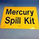 Seton Mercury Spill Kit Sign