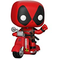 Funko 30969 POP! Rides: Marvel: Deadpool: Deadpool & Scooter Collectible Figure, Multicolour