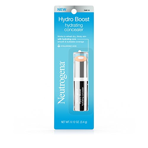 Neutrogena Hydro Boost Hydrating Concealer, 10 Fair 0.12 Oz