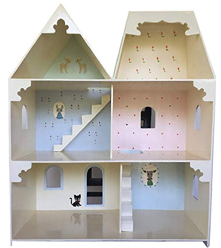 Mopsy Blossom Handmade Wooden Dollhouse Amazon In Toys Games