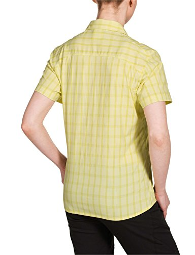 Jack Wolfskin Cent Aura Stretch Vent Camisa Women – Blusa [Lemonade Checks] - lemonade checks