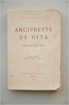 Arcipreste De Hita, Juan Ruíz - Libro Del Buen Amor. Tomo