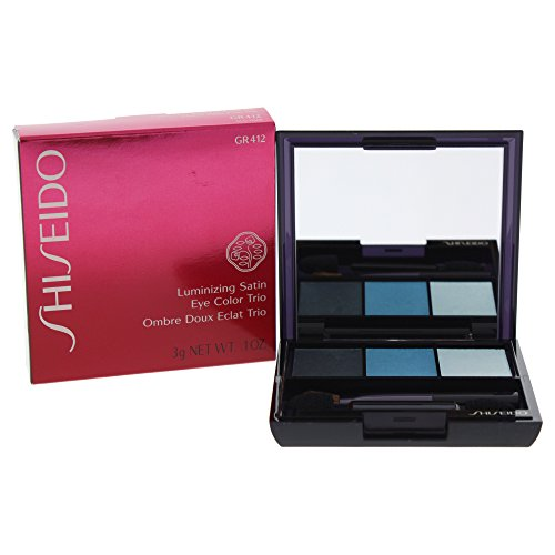 Powder Color Luminizing (Shiseido Shiseido luminizing satin eye color trio - #gr412 lido, 0.1oz, 0.1 Ounce)