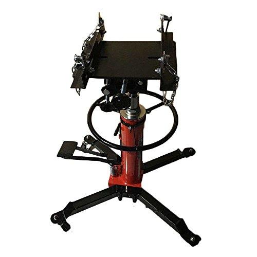 1500 LB 2 Stage Hydraulic Transmission Jack w/ 360°Swivel Wheels Lift Hoist