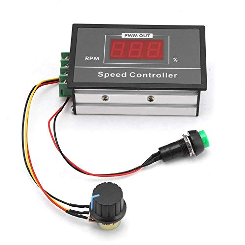 100% Quality 1 Pc Dc Brushed Motor Speed Controller Motor Governor 6-60v 10a Automatic Cw/ccw Rotation Regulator Speed Regulator Products Are Sold Without Limitations Motors & Parts