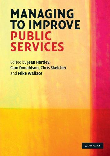 Managing to Improve Public Services