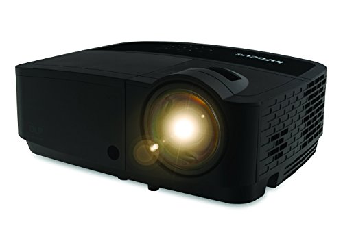 InFocus Corporation IN128HDSTx 1080p DLP Short Throw Network Projector, 3500 Lumens, 15,000:1 Contrast by InFocus