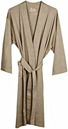 Organic Knit Bathrobe Earth