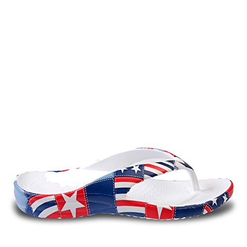 Dawgs Hommes Bruyant Tongs Betsy Ross
