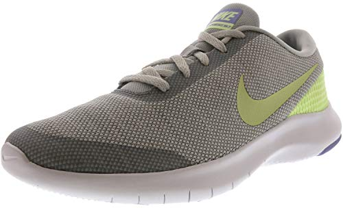NIKE Women's Flex Experience 7 Running Shoe (6.5, Pure Platinum/Barely Volt-Wolf Grey)