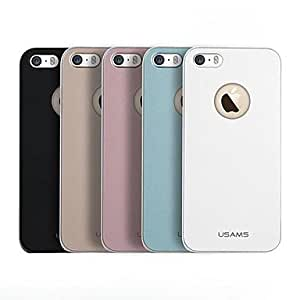 SOL PC Hard Case with Metal Painting for iPhone 5/5S