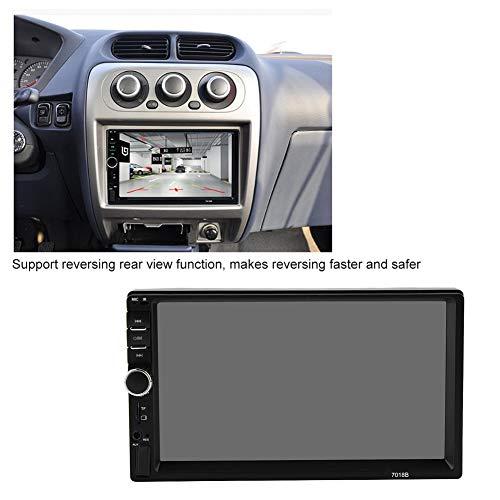 Akozon MP4 MP5 Player 7018B 7'' HD Car MP4 MP5 Player AUX Stereo BT Handsfree LCD FM Radio Remote Control by Akozon (Image #4)