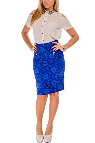 Real Cvb Falda Azul Mujer Para U6aq0