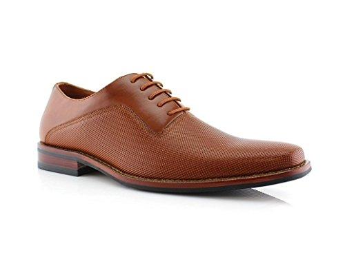 Ferro Aldo Mens Lalo Oxford Dress Shoes | Comfortable Dress Shoes |...