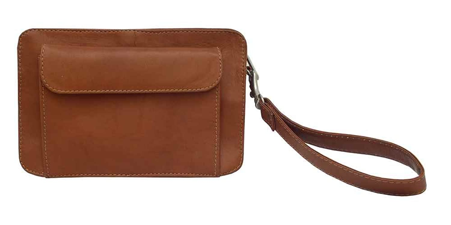 Saddle Leather Organizer Bag