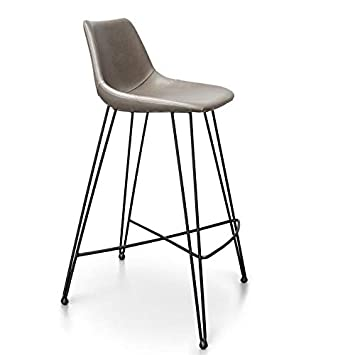 Wondrous Amazon Com Gingko Odette 29 Faux Leather Bar Stool Light Gmtry Best Dining Table And Chair Ideas Images Gmtryco