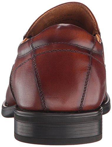 Florsheim Heren Medfield Moc Teen Instappers Loafer Jurk Schoenen Cognac