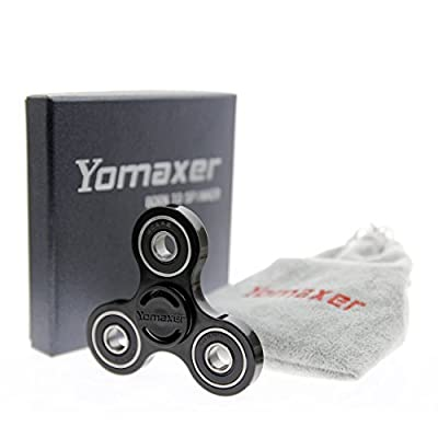 Yomaxer Tri-Spinner Fidget Toy Nylon PA Material Hybrid Si3N4 Ceramic Bearing Good for ADHD EDC Hand Killing Time