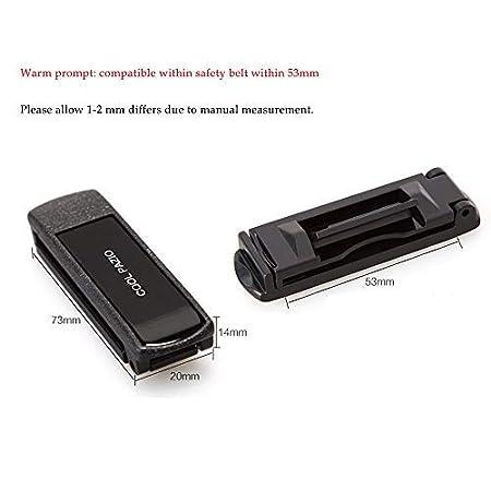 FancyAuto 2 correas ajustables para cintur/ón de seguridad de coche para mejorar la comodidad del coche