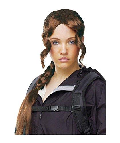District Girl Wig (Katniss Everdeen Halloween Costumes)