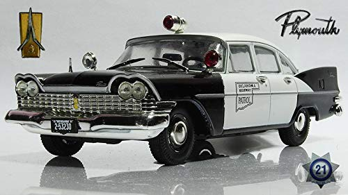 Plymouth Savoy Oklahoma Highway Patrol 1955 Year 1/43 Scale Diecast Model Car