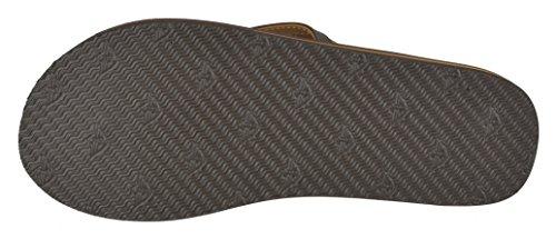 Dockers Mens Jesse Comfort Two-Tone Flip Flop Sandal Brown O6EiZuQV