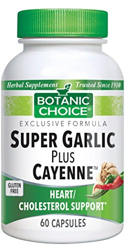 Botanic Choice Super Garlic Plus Cayenne, 60 Capsules For Sale