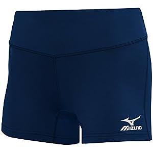 "Mizuno Victory 3.5"" Inseam Volleyball Shorts Navy"