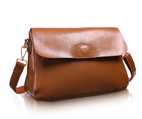 Choco Mocha 2016 New Fashion Women Leather Shoulder Bag Handbag Purse Hobo Cross Body Messenger Bag Simple Style Collection Satchel With Chain Brown Gsdl1513-bn