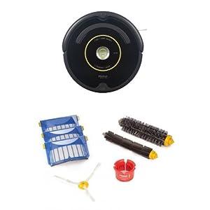 iRobot Roomba 650 Vacuum Cleaning Robot Bundle with Replenishment Kit