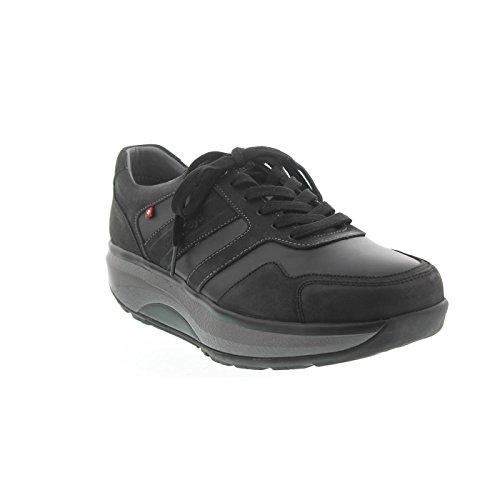 Trainers Joya Casual Black Leather ID Mens 44wq0z