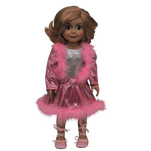 Hip Hop Dance Recital Costumes (Complete Skating Dance Set Fits 18 inch American Girl Doll. Dress Your Doll for a Gymnastics Meet, Dance Recital, Ice Skating Competition.)