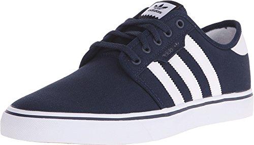 adidas Men's Seeley Skate Shoe,Collegiate Navy/White/Blue,10.5 M US from adidas Originals