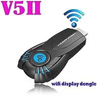 Wireless Wi-Fi Display Dongle Emubody Visson V5ii Ezcast Wifi Display Smart TV Stick Media Player Dongle DLNA Airplay 1080P