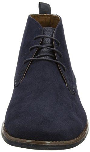 Navy Stivali Uomo Malone London Menswear Blue Chukka Burton qtZzf0wx