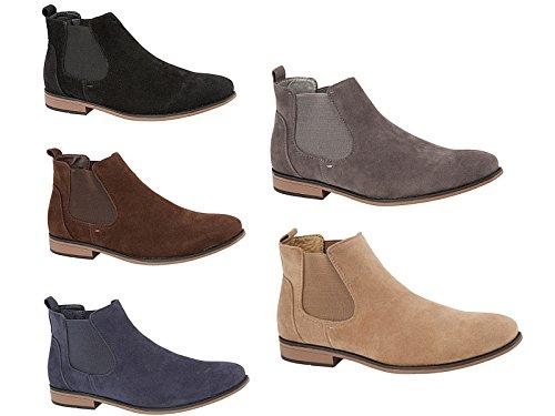Foster Footwear ,  Jungen Unisex Erwachsene Herren Damen Chelsea Boots Braun