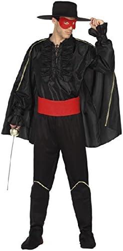 Atosa-7460 Atosa-7460-Disfraz Enmascarado-Adulto XL- Hombre- negro ...