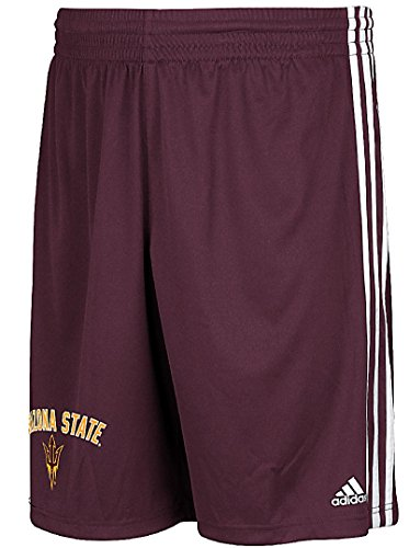 - Game Time Arizona State Sun Devils Mens Polyester Shorts-Trainer, Maroon (L=34-35)