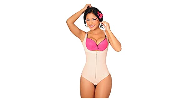 Fajas Salome Womens 0351 Body Panty (XL, BEIGE/PIEL) at Amazon Womens Clothing store: